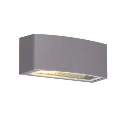 Lampada-da-parete-moderna-per-esterno-in-grafite-14,3-cm-IP44---Latina