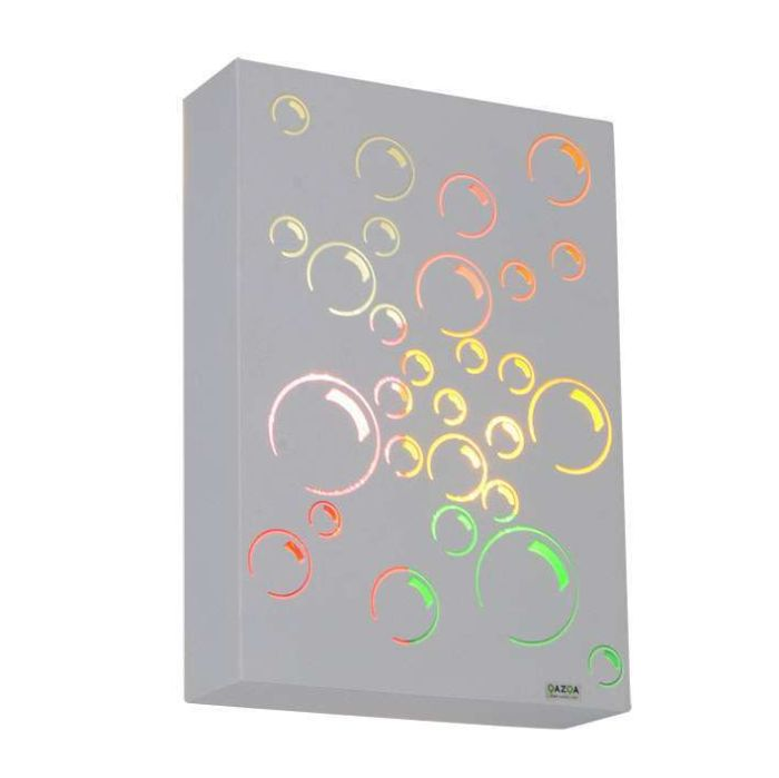 Applique-'Bubbles'-infantile-multicolore/metallo---adatto-per-LED-/-interno