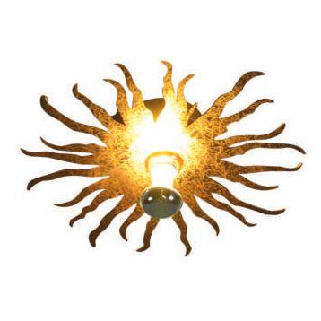 Lampada-da-soffitto/parete-'Cecilio'-moderna-oro---adatta-per-LED-/-interna