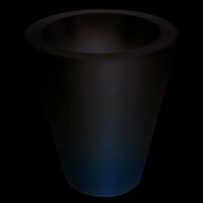 Fioriera-illuminata-'Flower-70'-moderna-blanca/plastica---adatta-per-LED-/-esterna,-interna