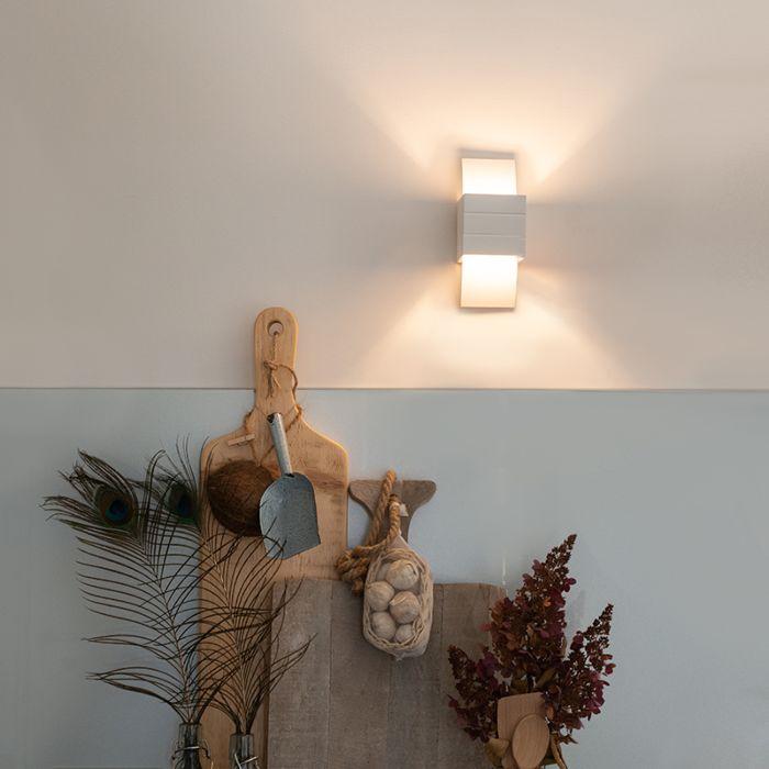 Lampada-da-parete-moderna-bianco---Amy