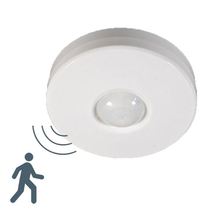 Rilevatori-di-movimento-PIR-moderno-blanco/plastica