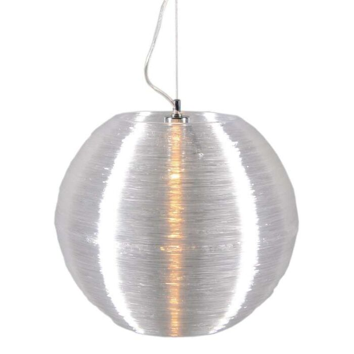 Lampada-a-sospensione-'Lugano-41'-moderna-trasparente/plastica---adatta-per-LED-/-interna