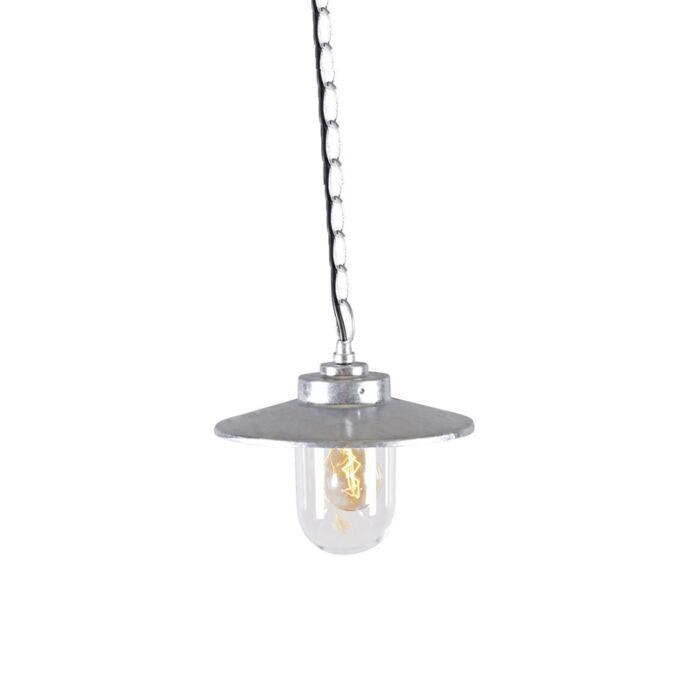 Lampada-a-sospensione-'Aachen'-rustica-grigia/zinco---adatta-per-LED-/-esterna