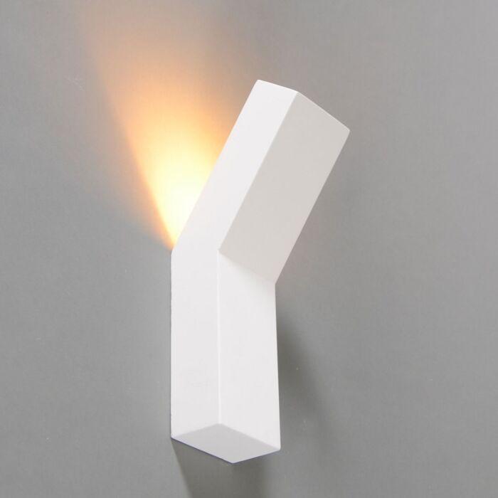 Lampada-da-parete-design-bianco---Gipsy-Lyon-I.