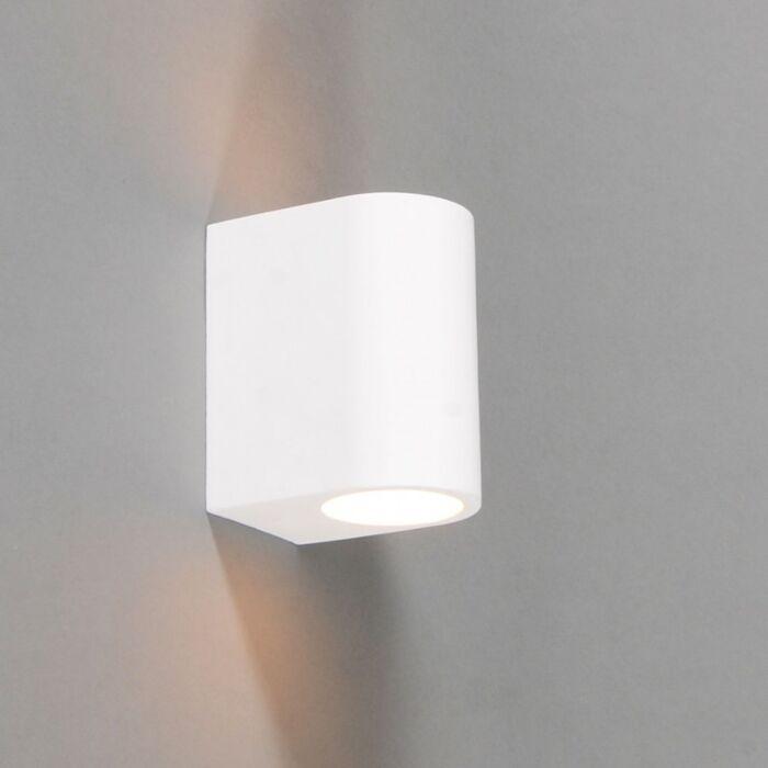 Applique-'Gipsy-Arles-R'-moderno-blanco/intonaco---adatto-per-LED-/-interno