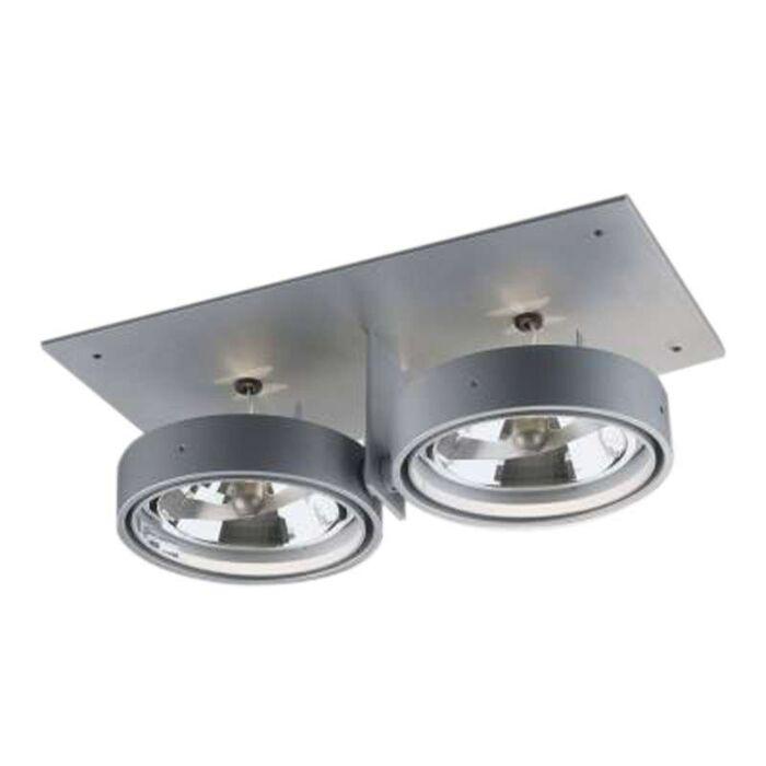 Faretto-da-incasso-grande-'Grid-In-ZB-2-QR'-design-alluminio---adatto-per-LED-/-interno,-bagno