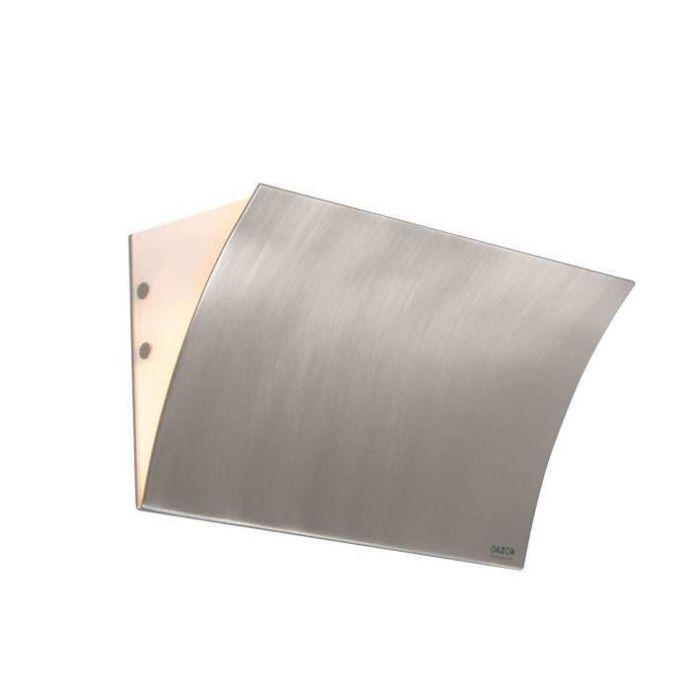 Applique-'Book-II'-moderno-acciaio---adatto-per-LED-/-interno
