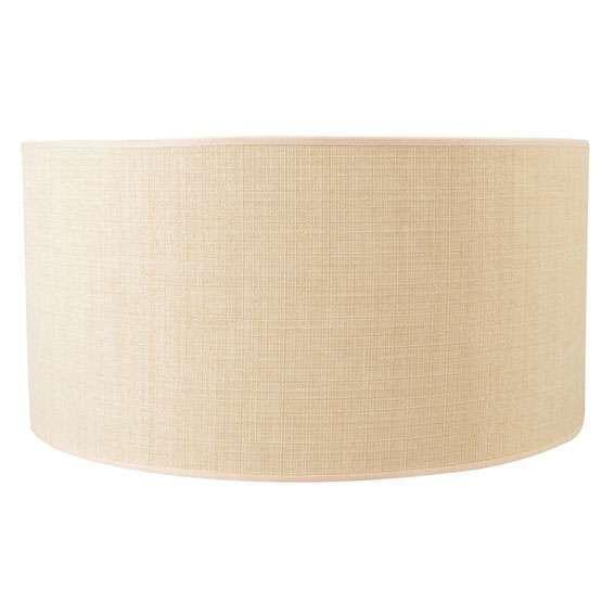 Paralume-'50/50/25'-moderno-beige/tessuto