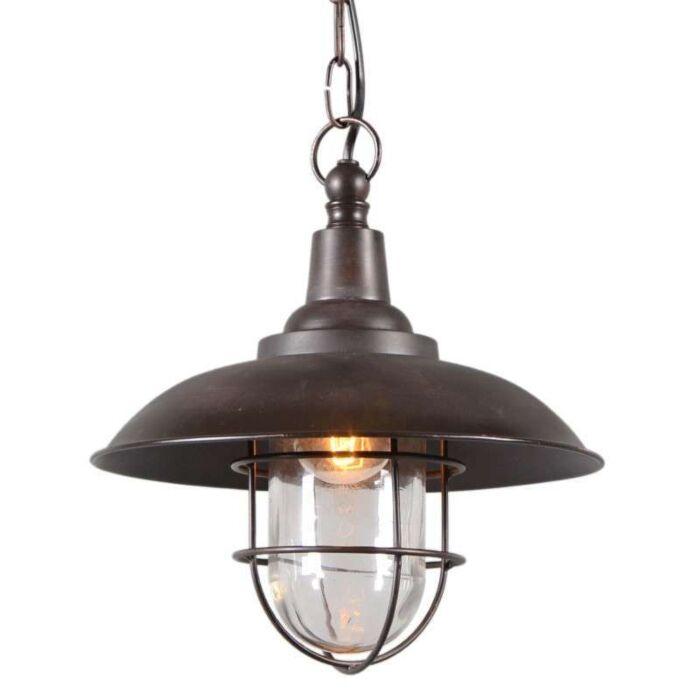 Lampada-a-sospensione-stile-nautico-'Titanic-28'-rustica-bronzo---adatta-per-LED-/-interna