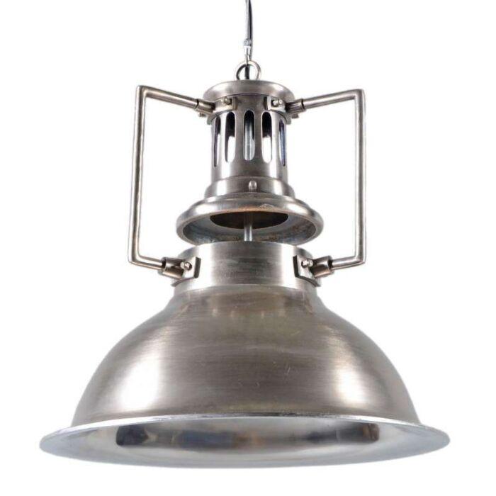 Lampada-a-sospensione-'Robot'-industriale-acciaio/nickel---adatta-per-LED-/-interna