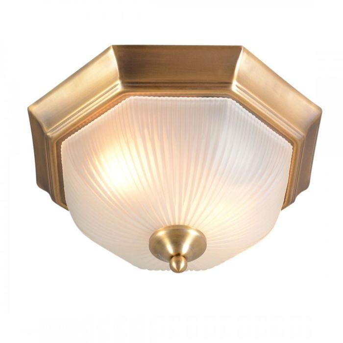 Plafoniera-'Gerlos-33'-classico-bronzo---adatta-per-LED-/-interna