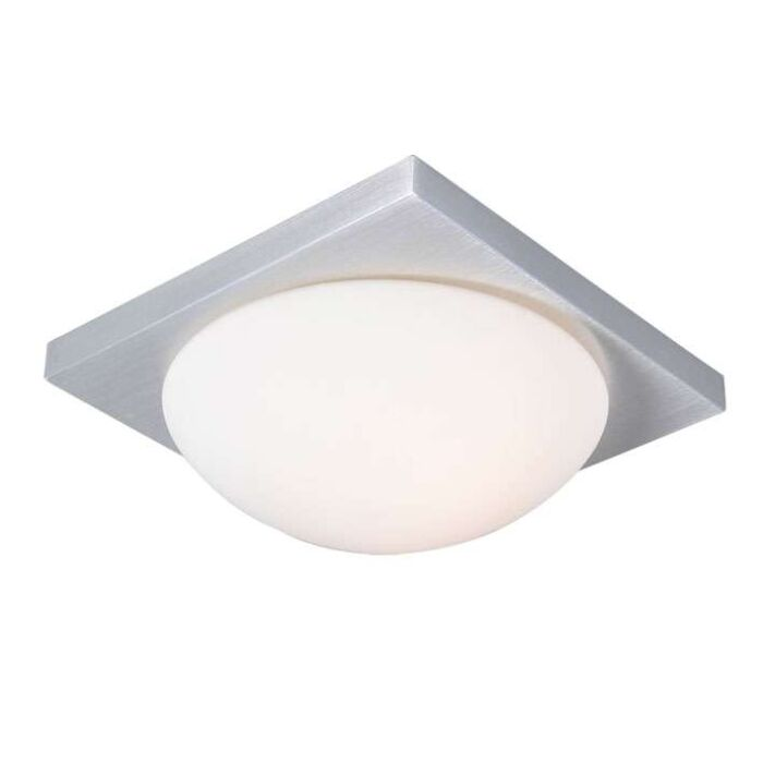 Plafoniera-'Menta-25-Q'-moderna-blanca/vetro---adatta-per-LED-/-interna,-bagno