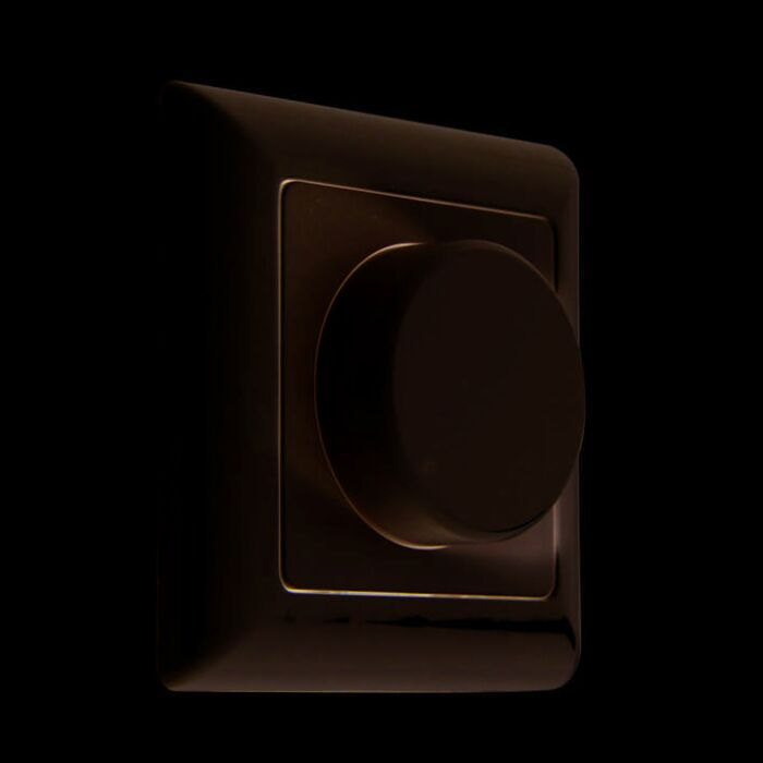 Dimmer/regolatore-da-parete-'Tronic-20-300W-Basic'-moderno-blanco/plastica