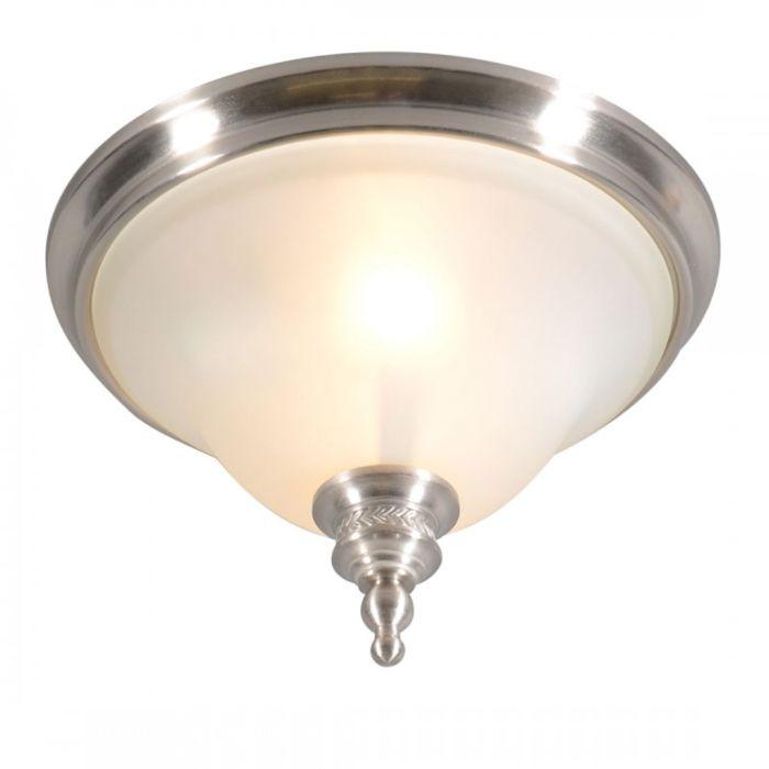 Plafoniera-'Elegance-33'-classico-acciaio---adatta-per-LED-/-interna
