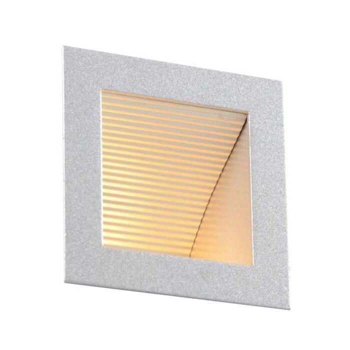 Faretto-da-incasso-da-parete-'Down-Under-S'-moderno-alluminio---adatto-per-LED-/-interno