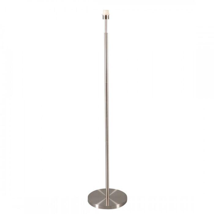 Lampada-da-terra-'Combi-1'-moderna-acciaio---adatta-per-LED-/-interna