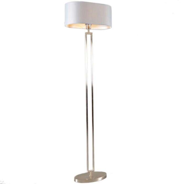 Lampada-da-terra-con-paralume-'Zadar'-moderna-acciaio---adatta-per-LED-/-interna