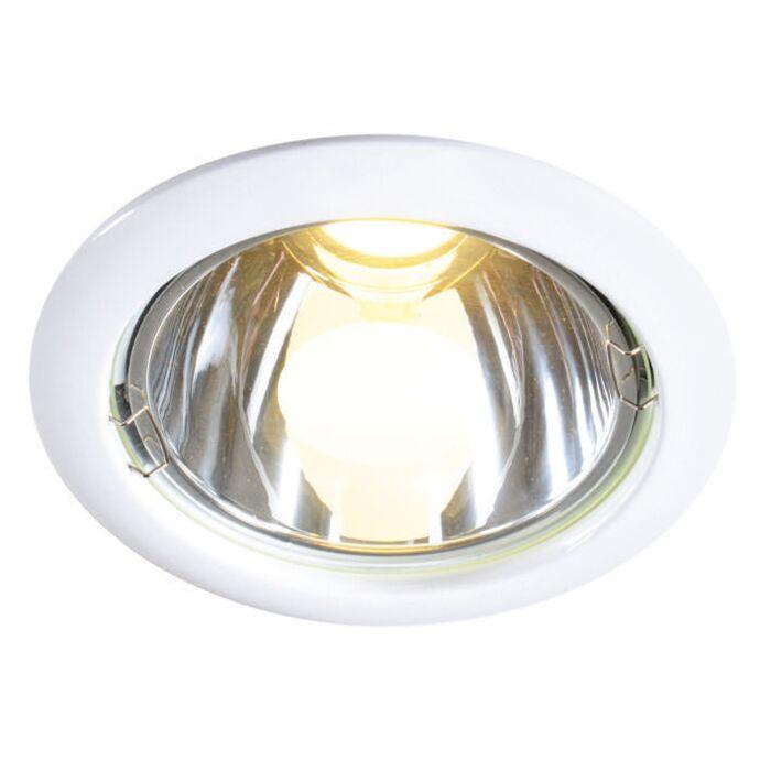 Faretto-da-incasso-'New-Lumiled-10W'-moderno-blanco/metallo---include-LED-/-interno