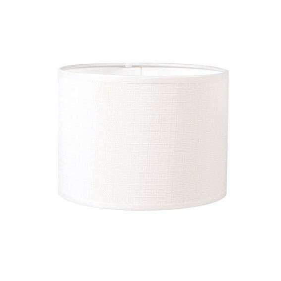 Paralume-'20/20/15'-moderno-blanco/tessuto