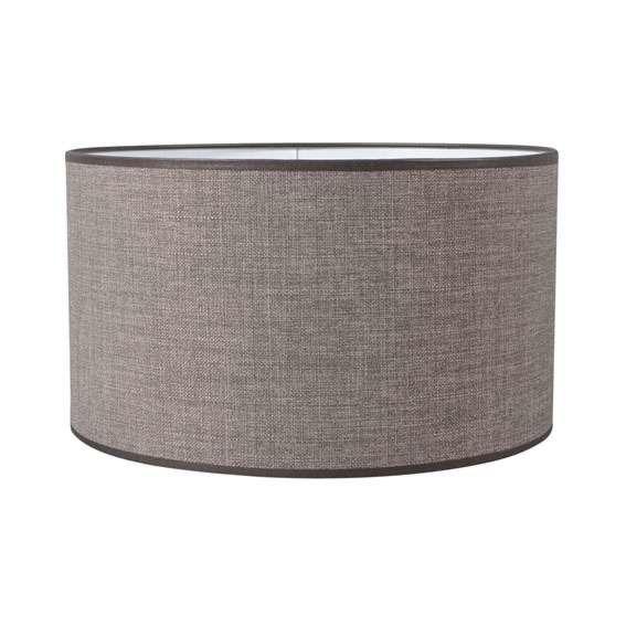 Paralume-'35/35/20'-moderno-grigio/tessuto