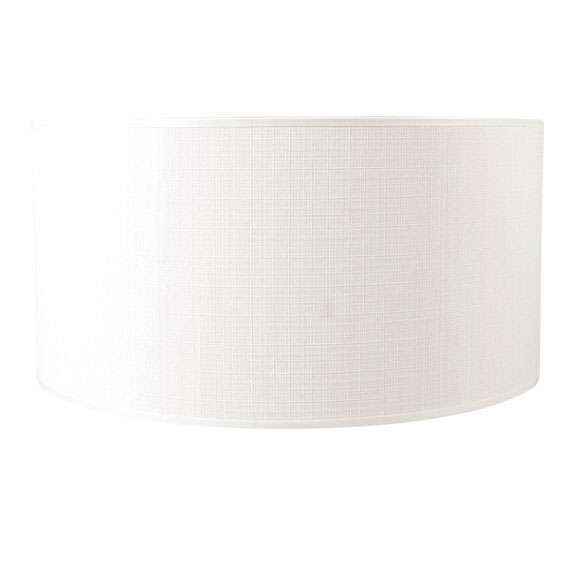Paralume-'50/50/25'-moderno-blanco/tessuto