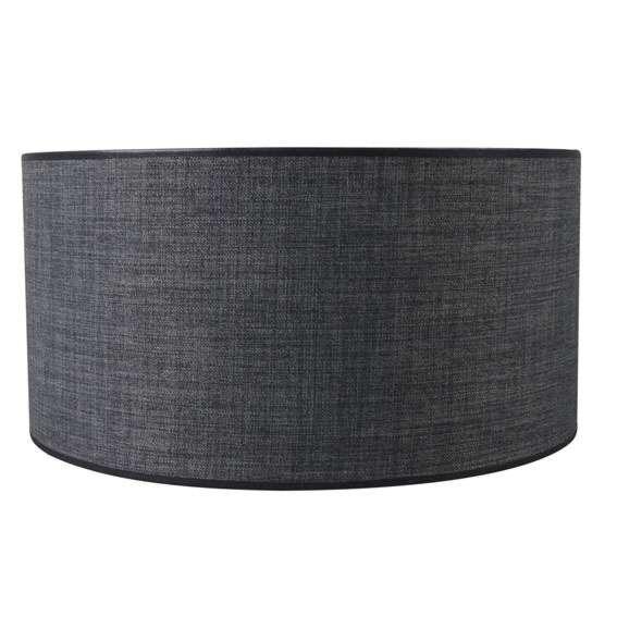 Paralume-'Kap-R-50/50/25-E27-DS'-moderno-grigio/tessuto