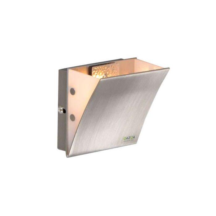 Applique-'Book-I'-moderno-acciaio---adatto-per-LED-/-interno
