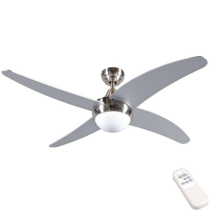 Ventilatore-da-soffitto-48cm-moderno-acciaio---ROAR