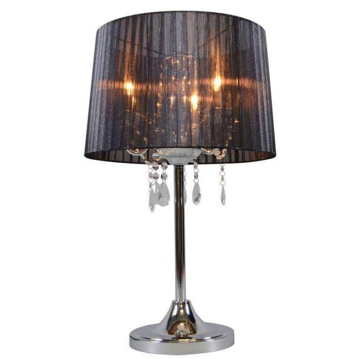 Lampada-da-tavolo-classica-cromata-con-paralume-nero---Ann-Kathrin-3