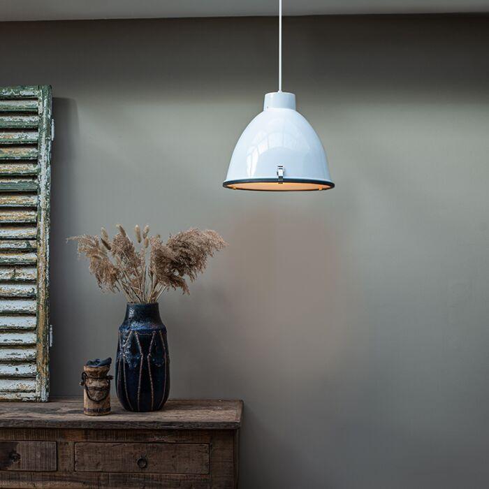 Lampada-a-sospensione-industriale-bianca-dimmerabile-38-cm---Anteros