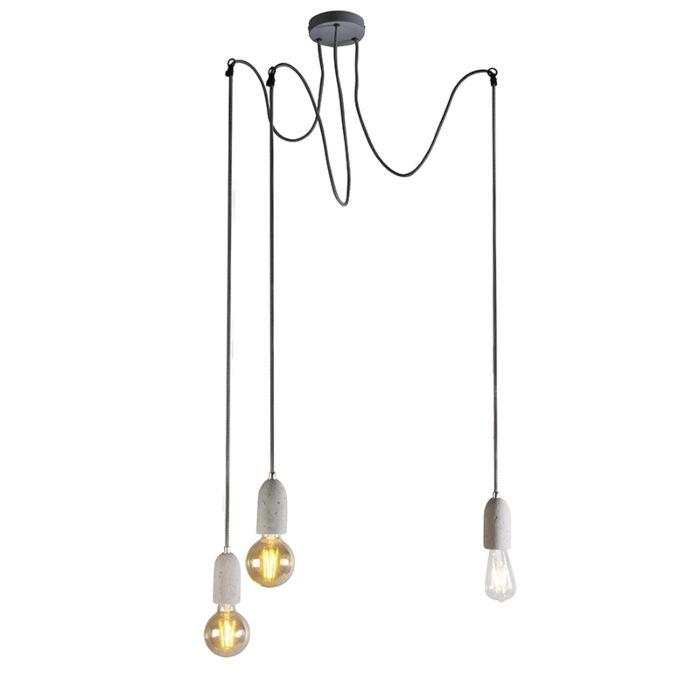 Lampada-a-sospensione-industriale-in-cemento-grigio---Cava-3