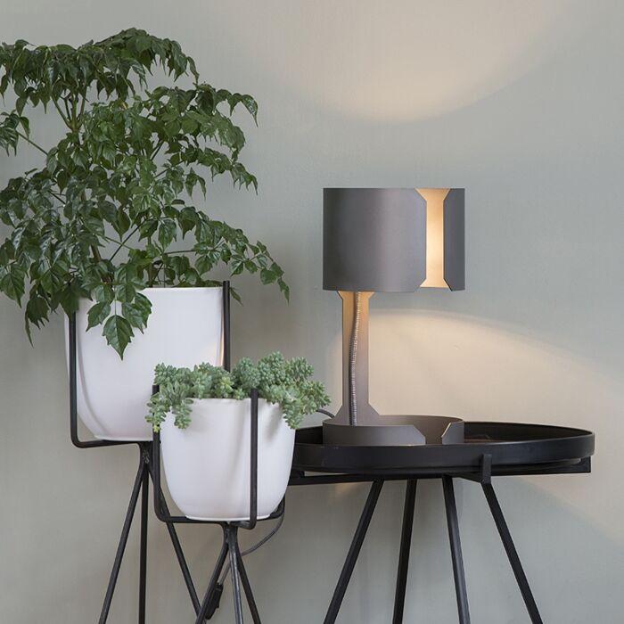 Lampada-da-tavolo-design-in-acciaio-opaco---Waltz