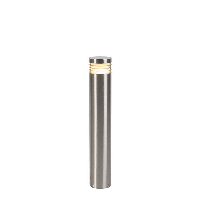 Lampada-da-terra-moderna-per-esterno-in-acciaio-60-cm-IP44---Doc