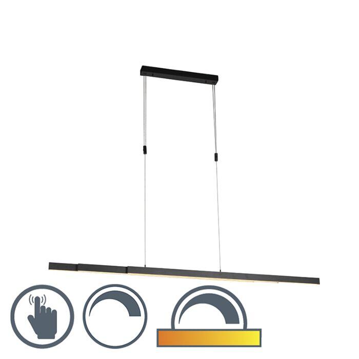 Lampada-a-sospensione-orientabile-antracite-da-scaldare-a-LED-inclusa---Juliet