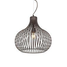 Moderne-hanglamp-bruin-48-cm---Frances-Q